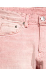 Skinny Low Jeans - Light pink denim - Men | H&M 4